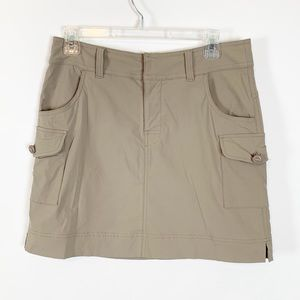Lucy Khaki Skirt with Pockets Size SP